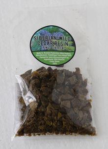 Кедрова смола 100% Натурална (Pinus sibirica)  50 g