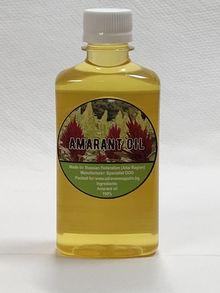 Амарантово масло (Студено пресовано)  100% Натурално